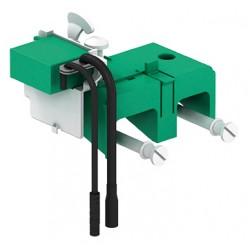 Automatyczna spłuczka do WC Sanicontrol 1065, uruchamianie bezprzewodowe, zasilanie bateryjne